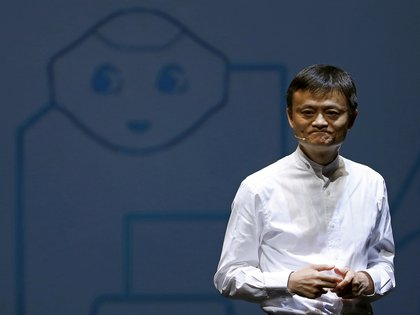 Jack Ma, founder and CEO of Alibaba Group