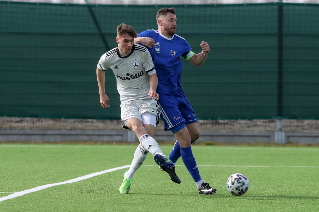 Legia.net - Legia Warsaw - Reserves: Win at Skyrnivis.  He played with others Vesovic