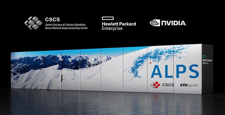 Nvidia Grace in the alpine supercomputer