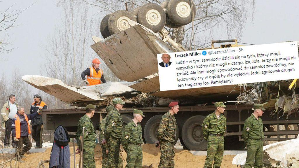 Leszek Miller o katastrofie smoleńskiej (fot. PAP/EPA)