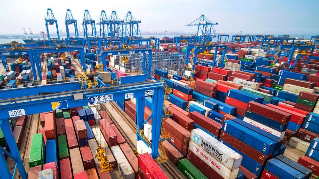 The Chinese economy grew by 18.3% compared to the previous year