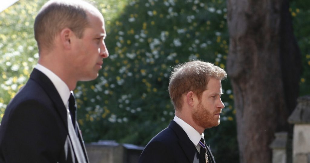 Will Prince William and Prince Harry come to an agreement?  They left the church together