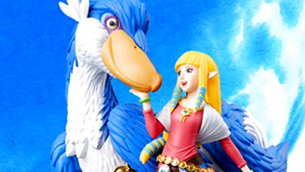 A new Amibo character has been announced for Zelda: Skyward Sword HD