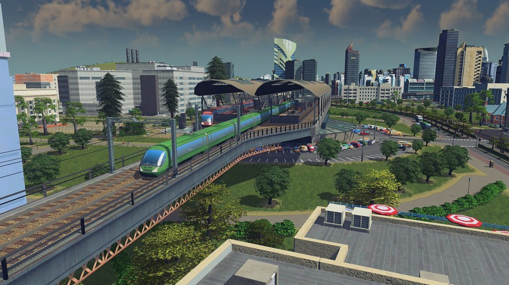 You can now cross your city with railways.