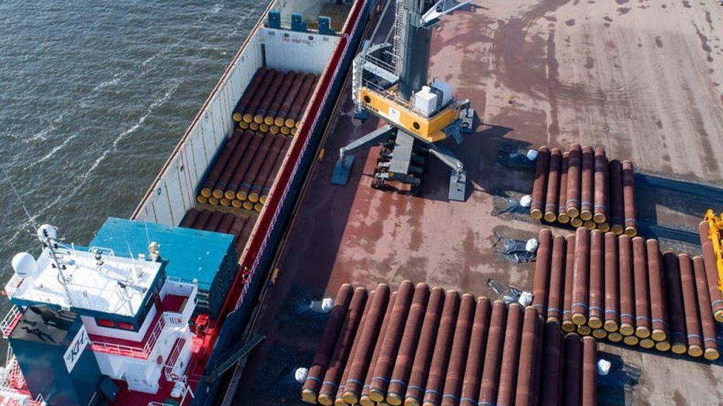 Zablokowania budowy Nord Stream 2 domaga się między innymi Polska (fot. Nord Stream 2)