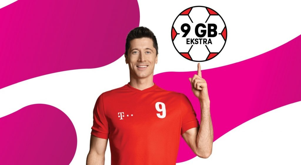 T-Mobile: 9 GB Free internet for football fans and more