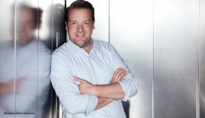 Channel Manager at ProSieben and Sat.1 Daniel Rosemann © ProSieben / Martin Saumweber