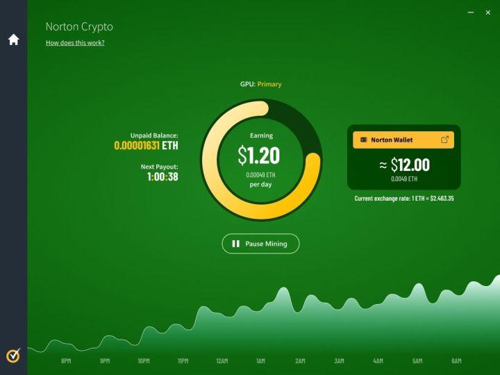 Norton 360 Antivirus Will Offer Cryptocurrency Mining Feature - Illustration #1