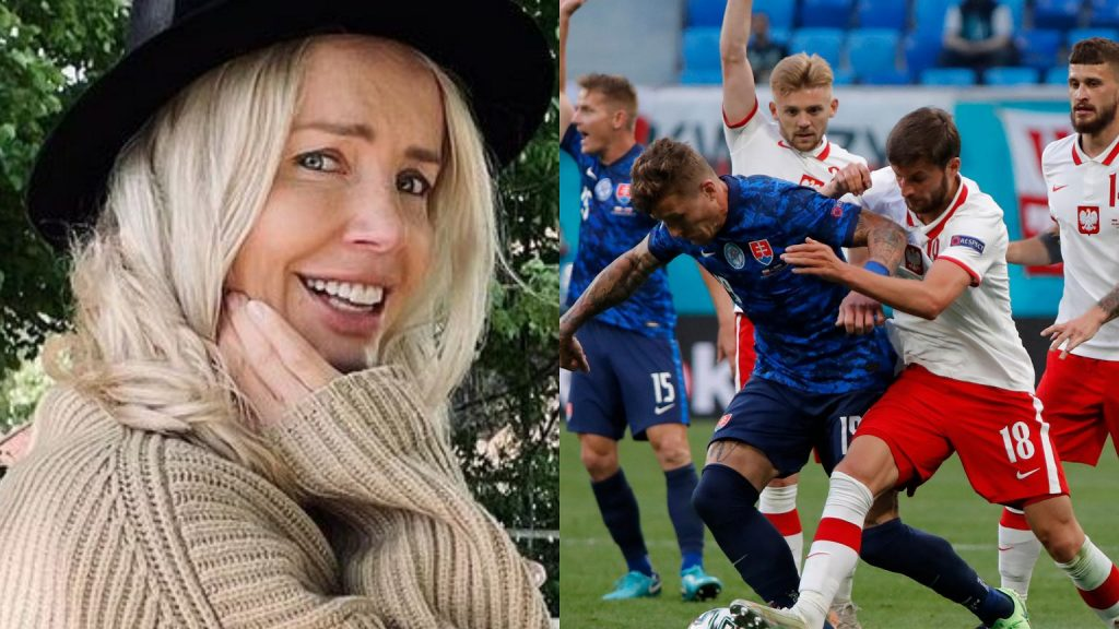 Agnieszka Voniak-Stark comments on what she thinks about the match between Poland and Slovakia.  His film was a success