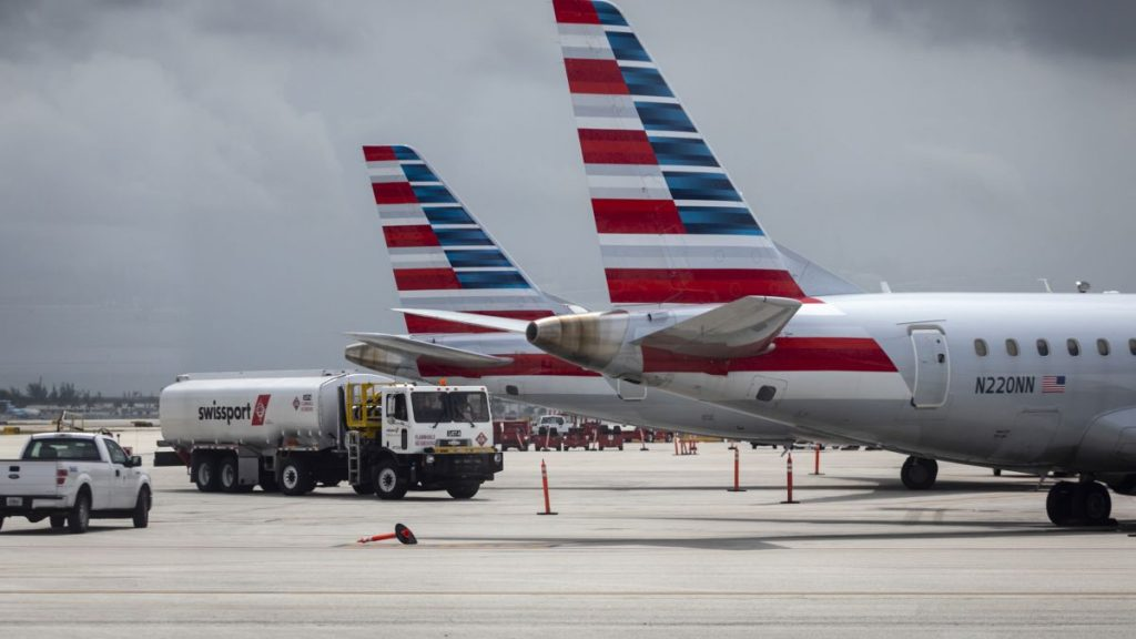 American Airlines has canceled hundreds of flights due to staff shortages