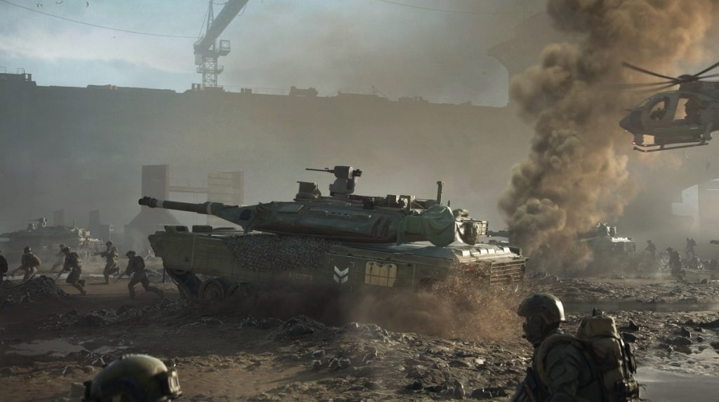 Battlefield 2042 is planned without Battle Royale.  Free game can come • Eurogamer.de