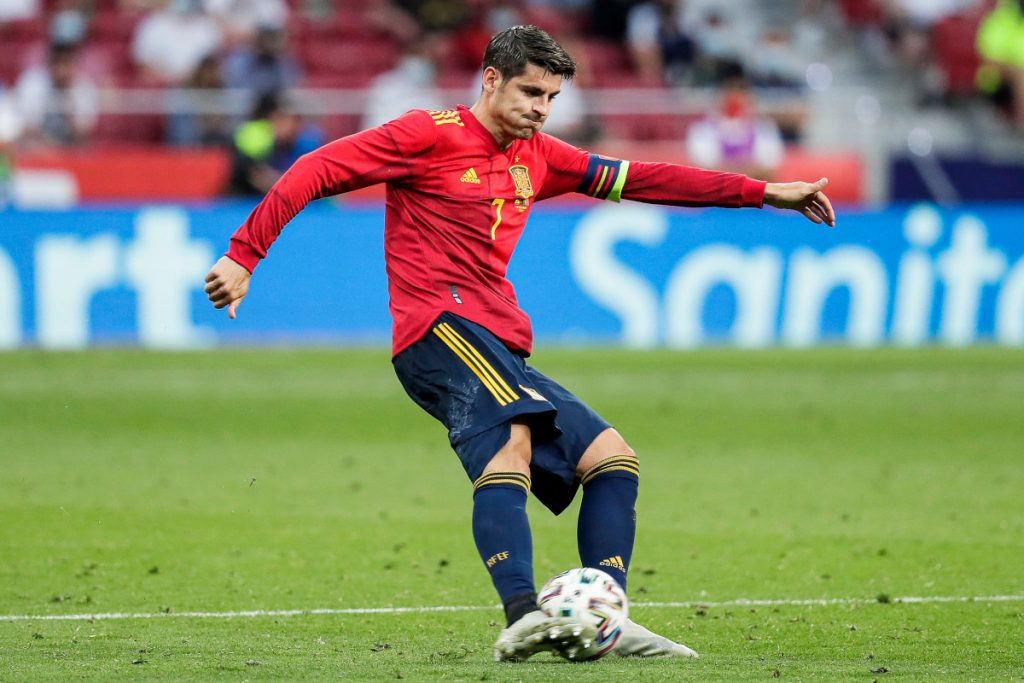 Euro 2020. Alvaro Morata is Spain's anti-hero.  The fans whistle and the team defends
