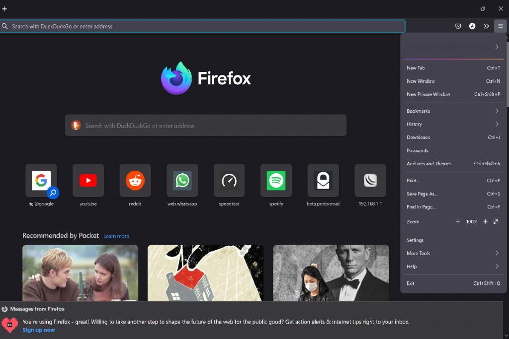 Firefox 89 with a new interface - Computerworld