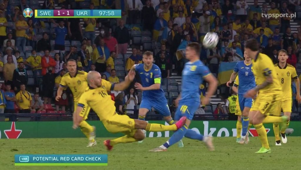 Gary Linker caused a storm after the Swedish game