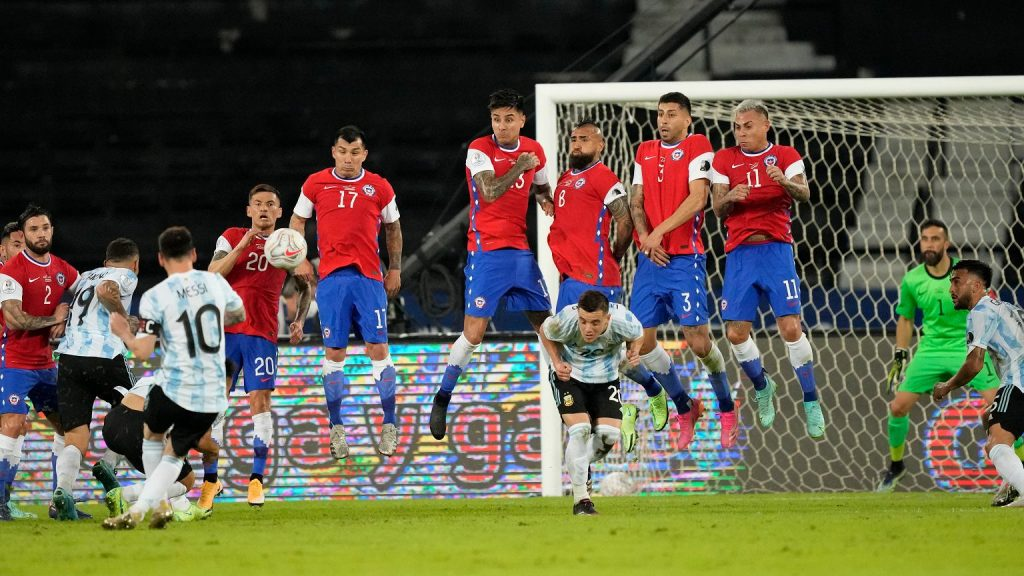 Messi's beautiful goal is not enough!  Argentina joins Pica Nona of Chile