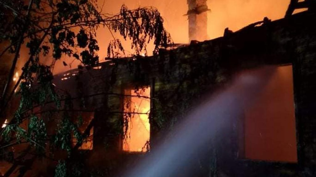 Otook.  Uedermager burned at 32 Magwa Street, 60 firefighters caught fire