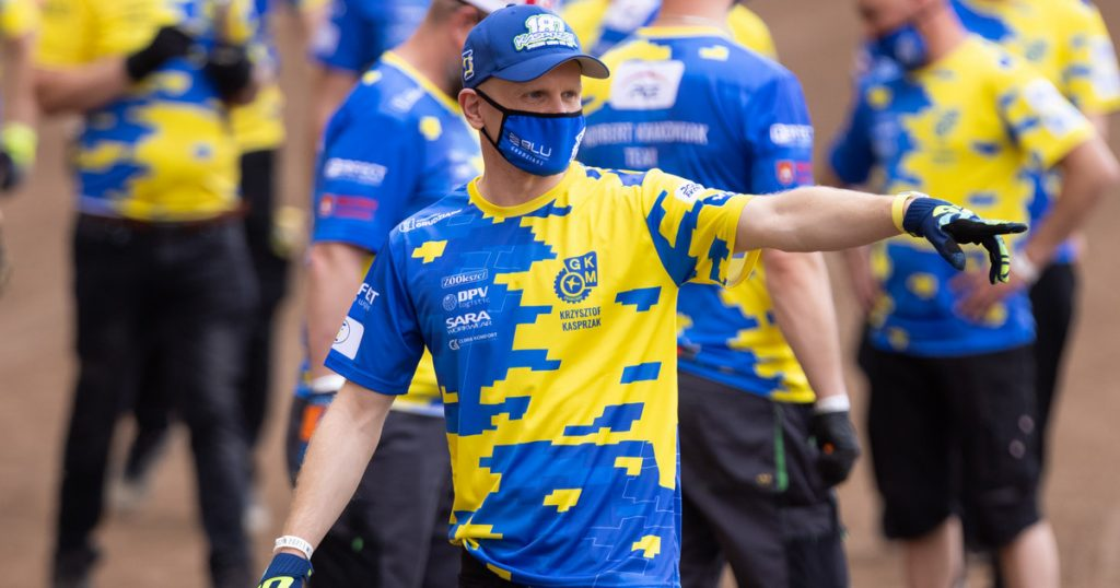 SPEEDWAY: Chrysstof drove down to Crosby in Wroclaw for criticism