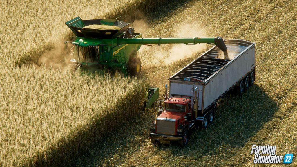The hard life of a farmer in the trailer Farming Simulator 22