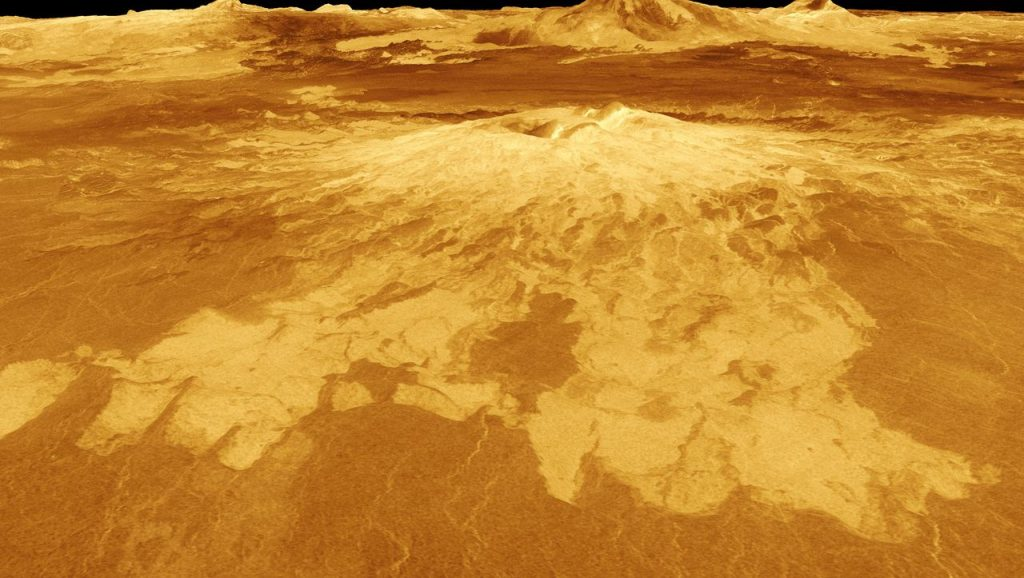 Venus: There is probably no life on this planet - a little water