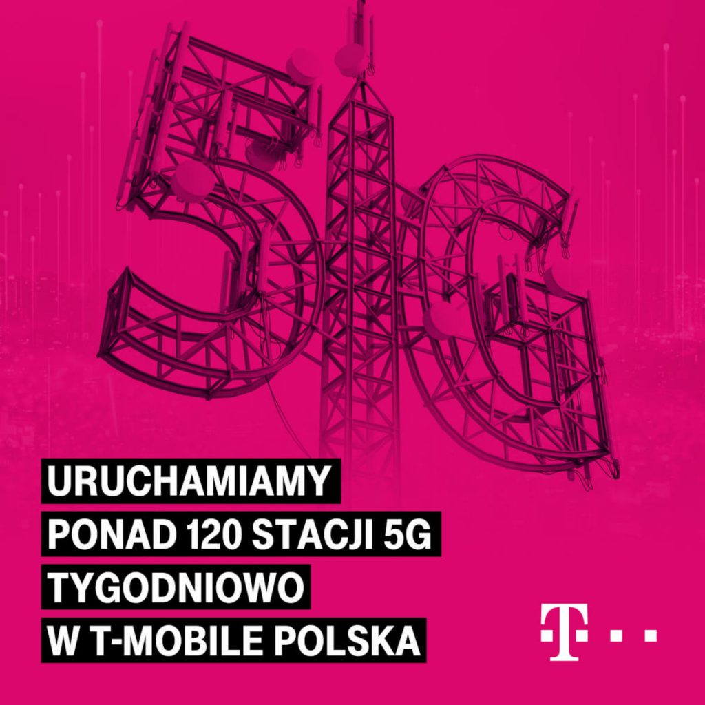 T-Mobile will launch 120 new 5G stations per week to quickly increase range