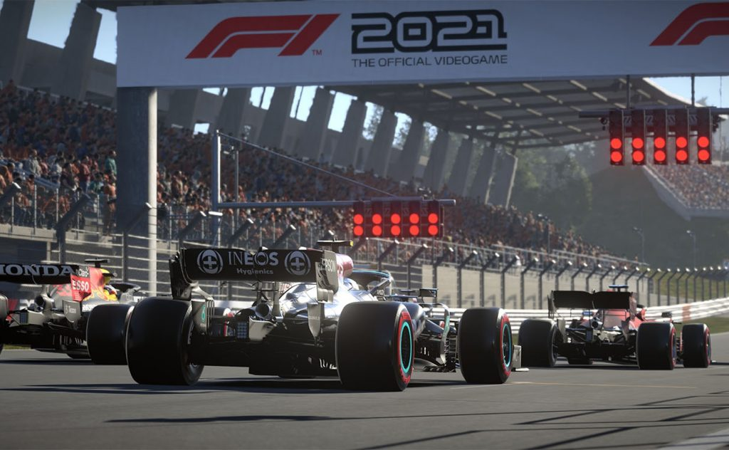 F1 2021 z-ray tracing in DLSS