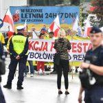 Farmers' Protest: Jeruni Blocks