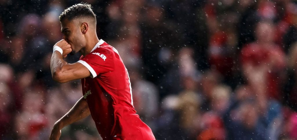 Andreas Pereira after a break with Brentford: This is the best goal of my career |  ManUtd.pl