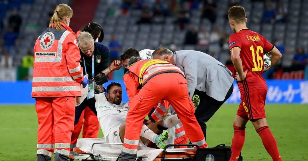 Belgium-Italy.  Leonardo Spinasoli's play.  Tears welled up.  Euro 2020