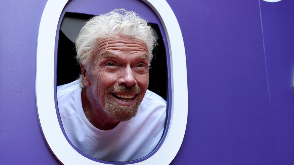 Branson wants to go to space before Bezos
