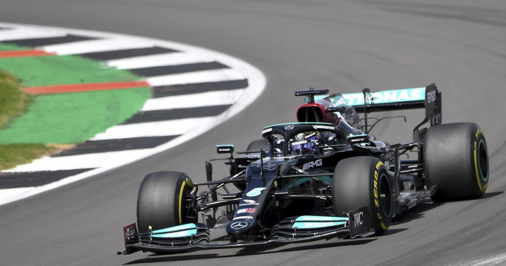 F1: British GPS  Qualifications completed.  Lewis Hamilton from the polar position