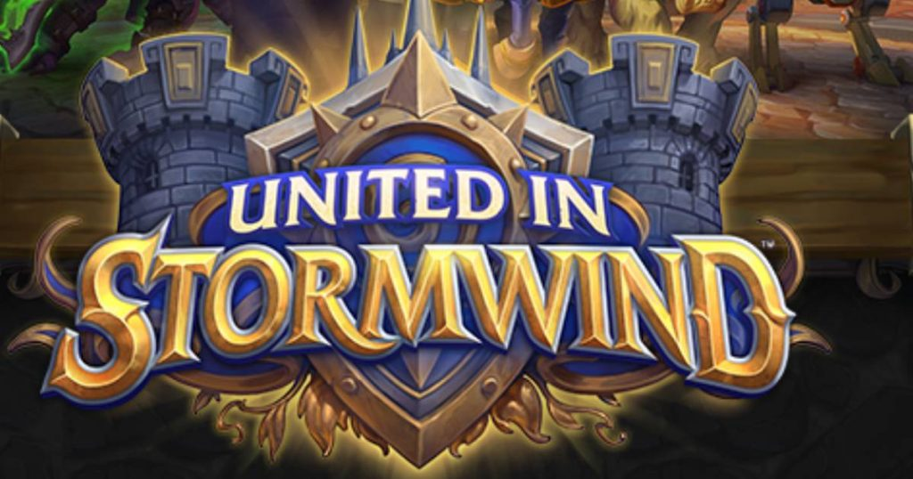 Hearthstone's expansion, Unite in Stormwind, launches on August 3