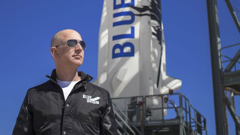 Jeff Bezos and Richard Branson are not considered astronauts by the United States |  Blue Origin |  Virgo Galaxy