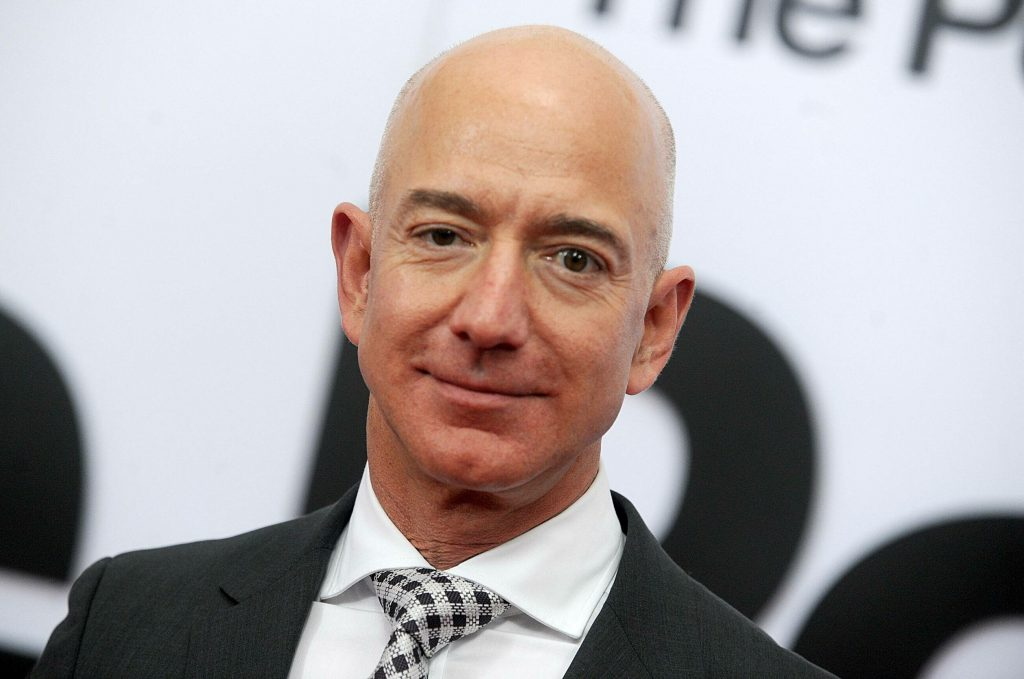 Jeff Bezos is no longer the head of Amazon.  He was replaced by Andy Gacy