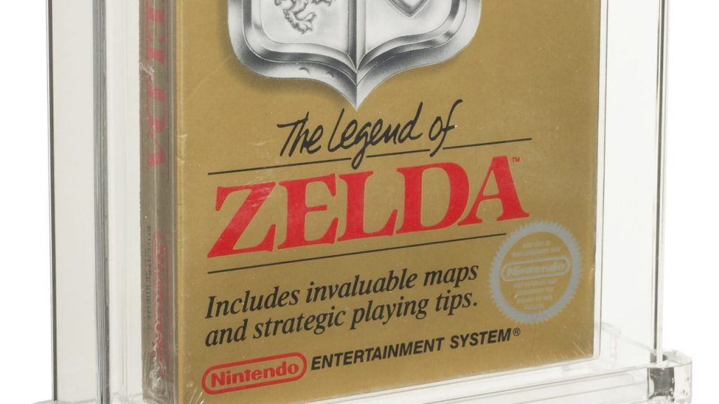 'Legend of Zelda': A 1987 video game that auctioned for $870,000 - News international