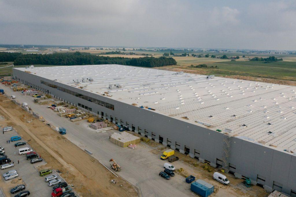 This is what the construction of the LPP distribution center in Brześć Kujawski looks like [zdjęcia, wizualizacje]