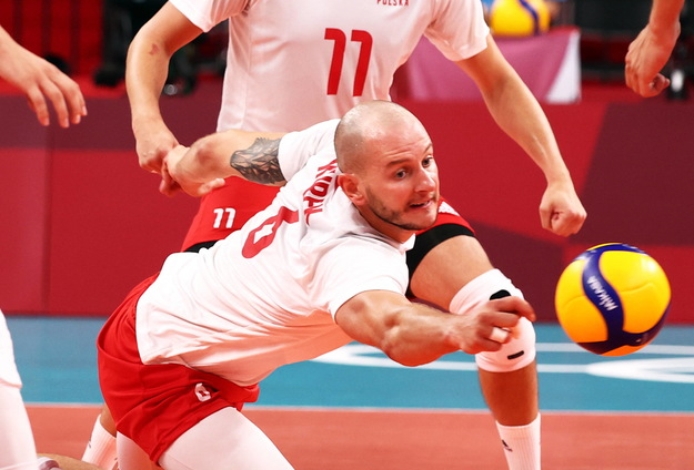 Poland fight France in the quarterfinals of the Olympic Games in Tokyo.  / WU HONG / PAP / EPA