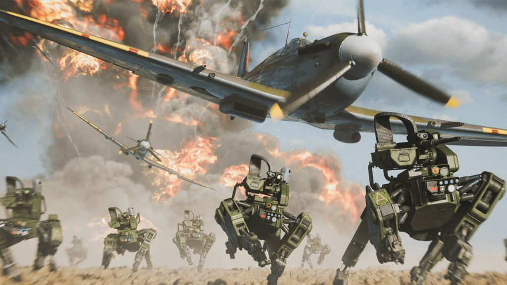 Battlefield is like service.  EA aims to engage players 365 days a year