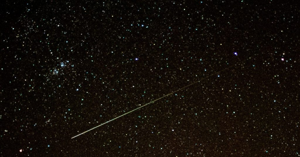 It's good to see shooting stars especially this year