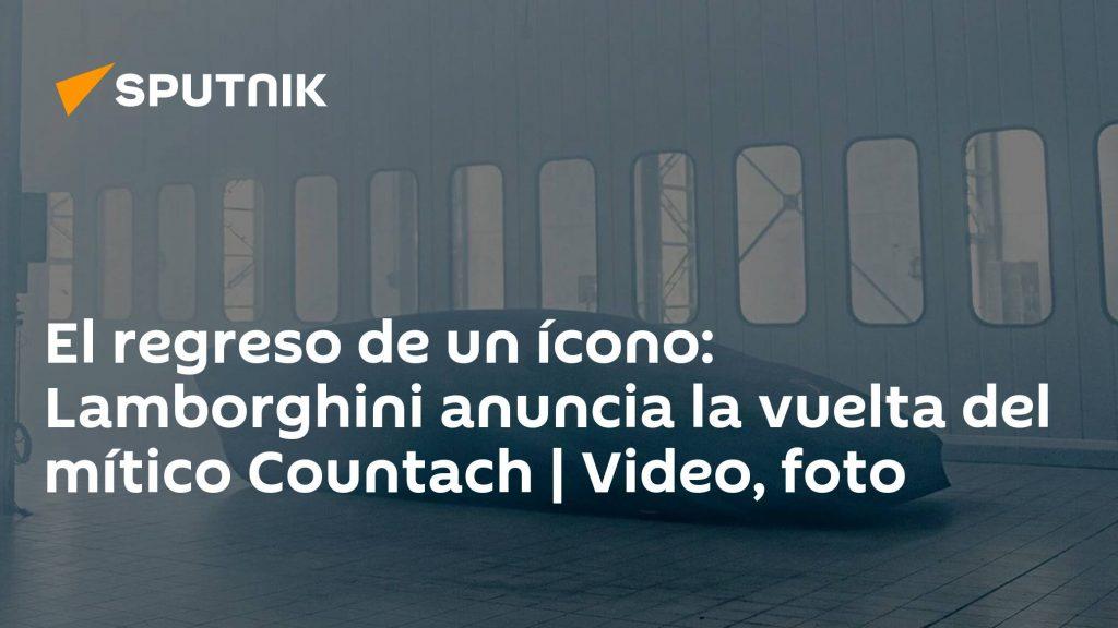 Icon return: Lamborghini announces the return of the legendary Countach    video, photos