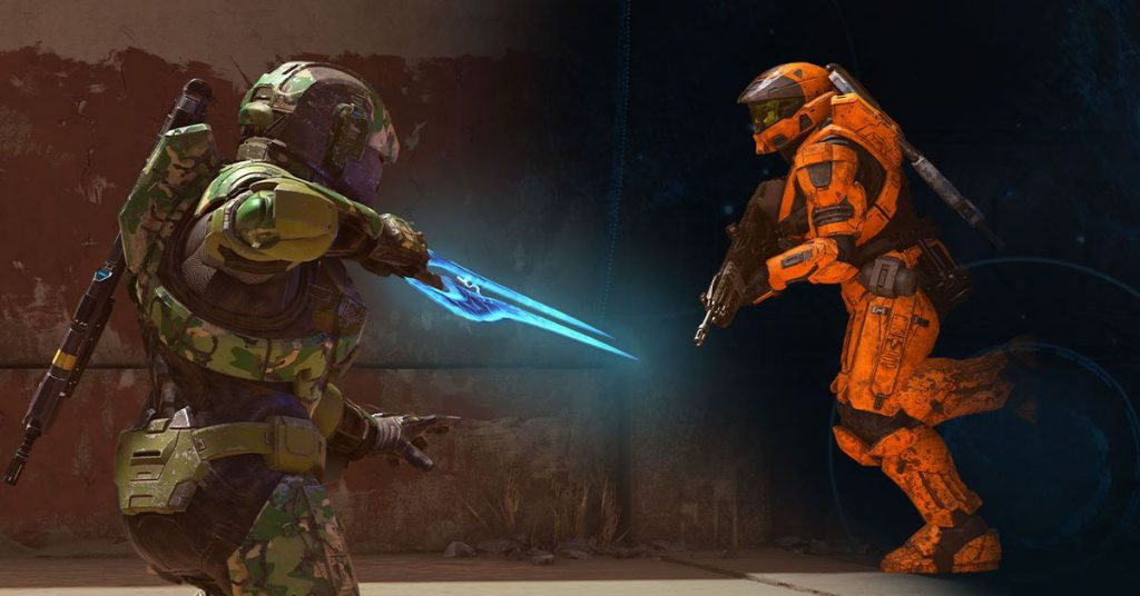 At launch, you will not be able to play Halo Infinite co-op or edit multiplayer maps