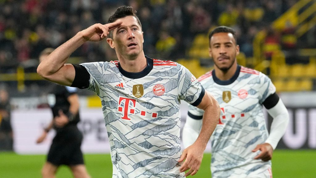 Following in the footsteps of Robert Lewandowski!  Where and when will he watch the Bayern Munich - FC Goyal game? [TRANSMISJA] Pica Nona