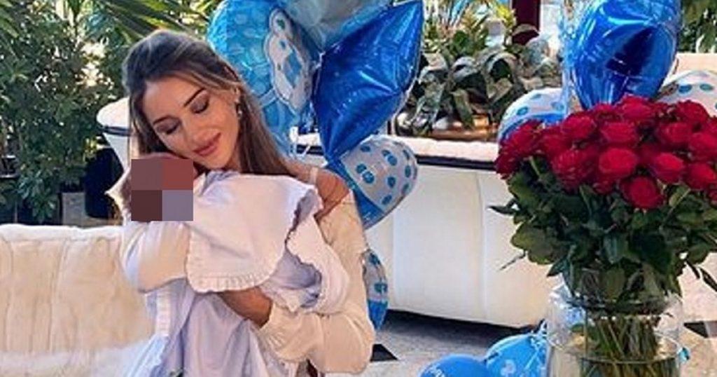 Joseph Wozniacki became a father.  Patricia Tuzhliska gave birth to a son