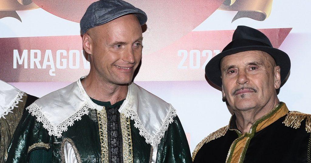 "Krzysztof Krawczyk Jr. performed at Mrągowo.  ""Dad, I'm in good hands"""