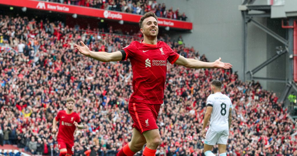 Liverpool - Burnley.  Conclusion and relationship.  The Reds have won and are leading the Premier League