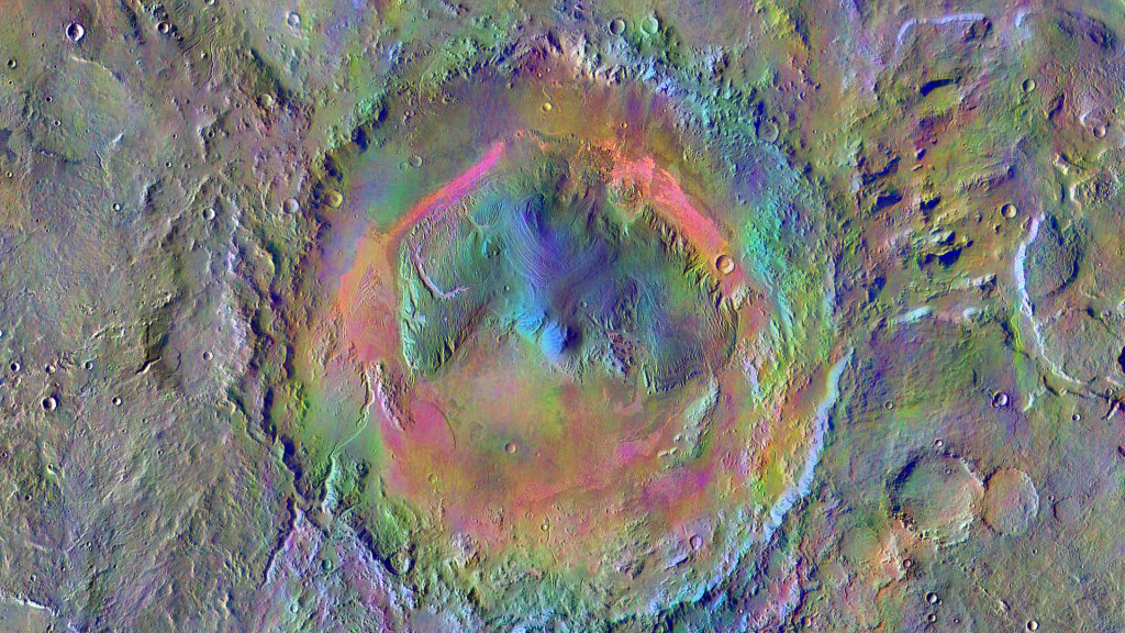 Mars Crater Gale was more of a pond than a lake
