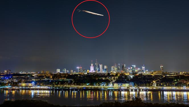Mysterious event on Warsaw!  Flying parasites ... people