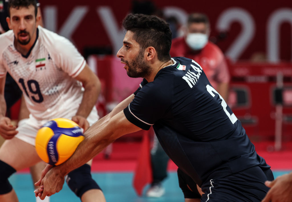 The Iranians have a new captain.  PGE Skra Bełchatów is a big difference for the volleyball player