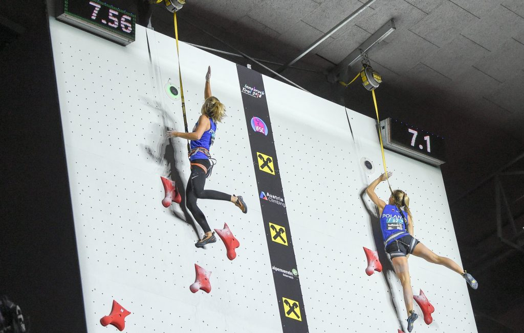 Tokyo 2020. Alexandra Mirosla.  Olympic record to climb against time.  What is the result of the Polish player?