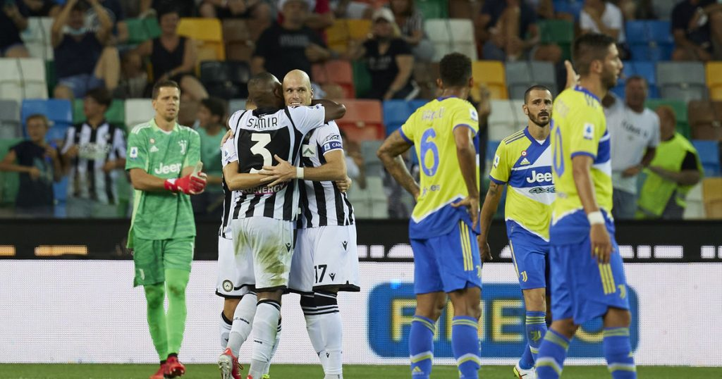 Udinese - Juventus.  Conclusion and relationship.  The devastating performance of Wojciech Chasny
