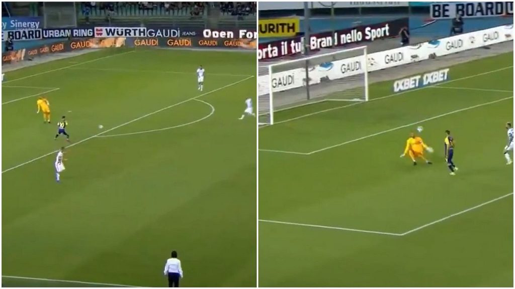 Who did he serve?  Dangerous move by the Inter goalkeeper.  The Italian champions lead Serie A. [WIDEO] Pinka Nona